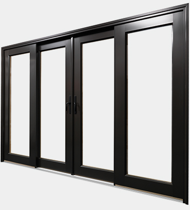 Bi-Sliding Patio Door Configuration 1