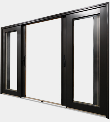 Bi-Sliding Patio Door Configuration 3