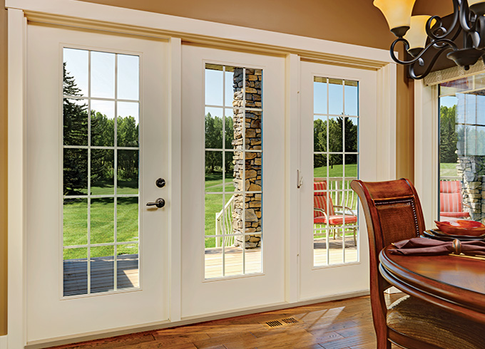 Garden doors products garden doors swinging garden doors for Types of patio doors