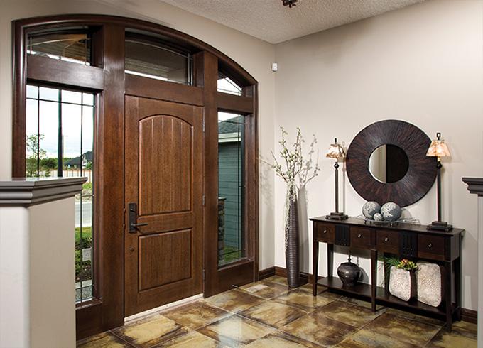 Woodland Series (Textured Skin Doors) & Fiberglass Doors in Calgary \u0026 Edmonton | Lux Windows \u0026 Doors Pezcame.Com