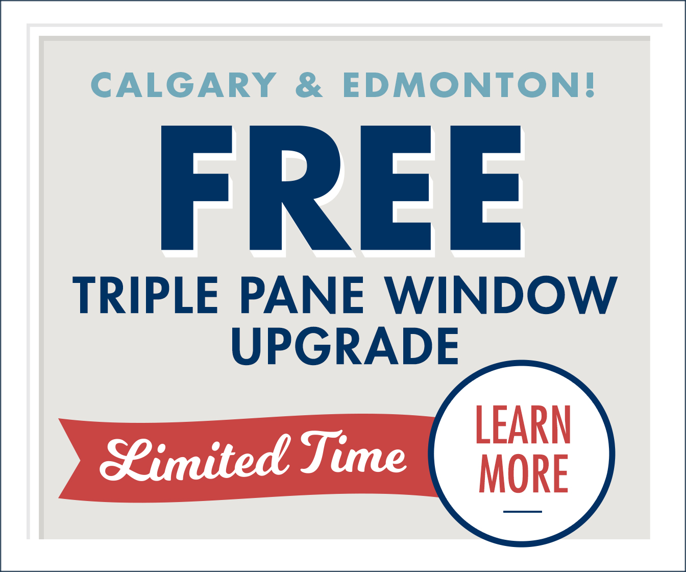 The Lux Free Triple-Pane Window Upgrade is Back graphic